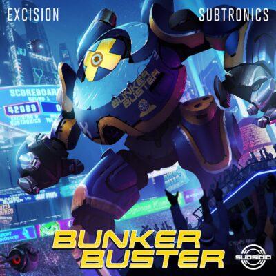 دانلود آهنگ Excision BUNKER BUSTER