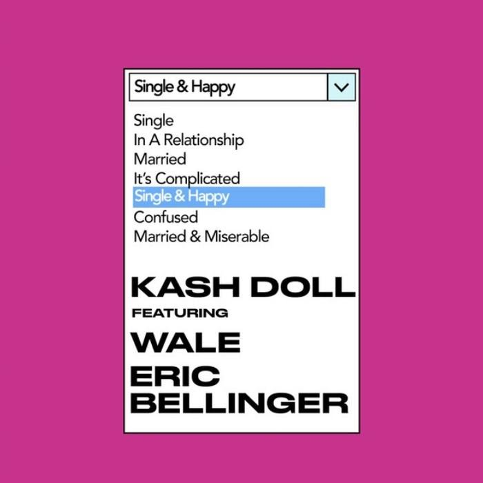 دانلود آهنگ Kash Doll Single & Happy feat Wale and Eric Bellinger