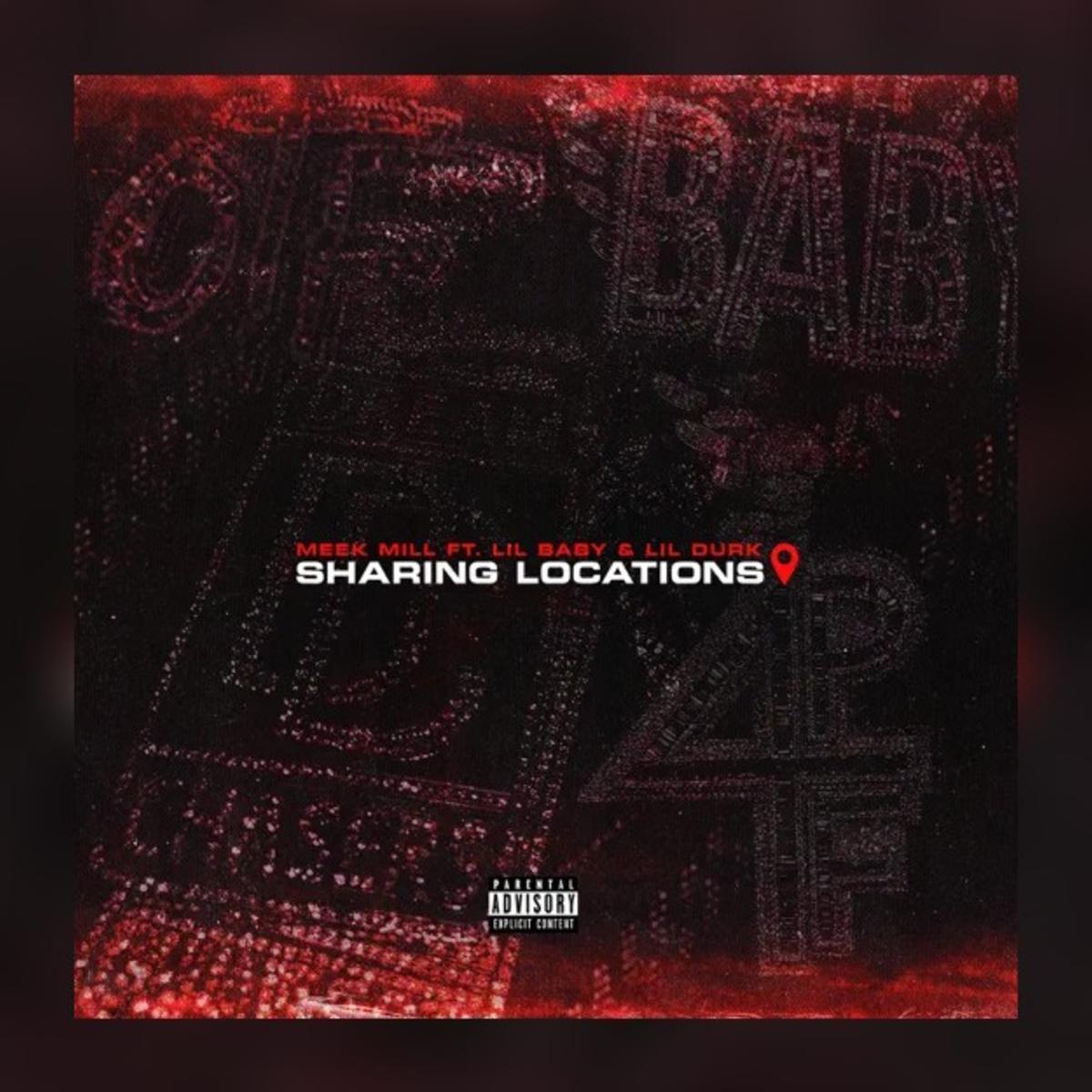 دانلود آهنگ Meek Mill Sharing Locations (feat. Lil Baby & Lil Durk) feat Lil Durk and Lil Baby